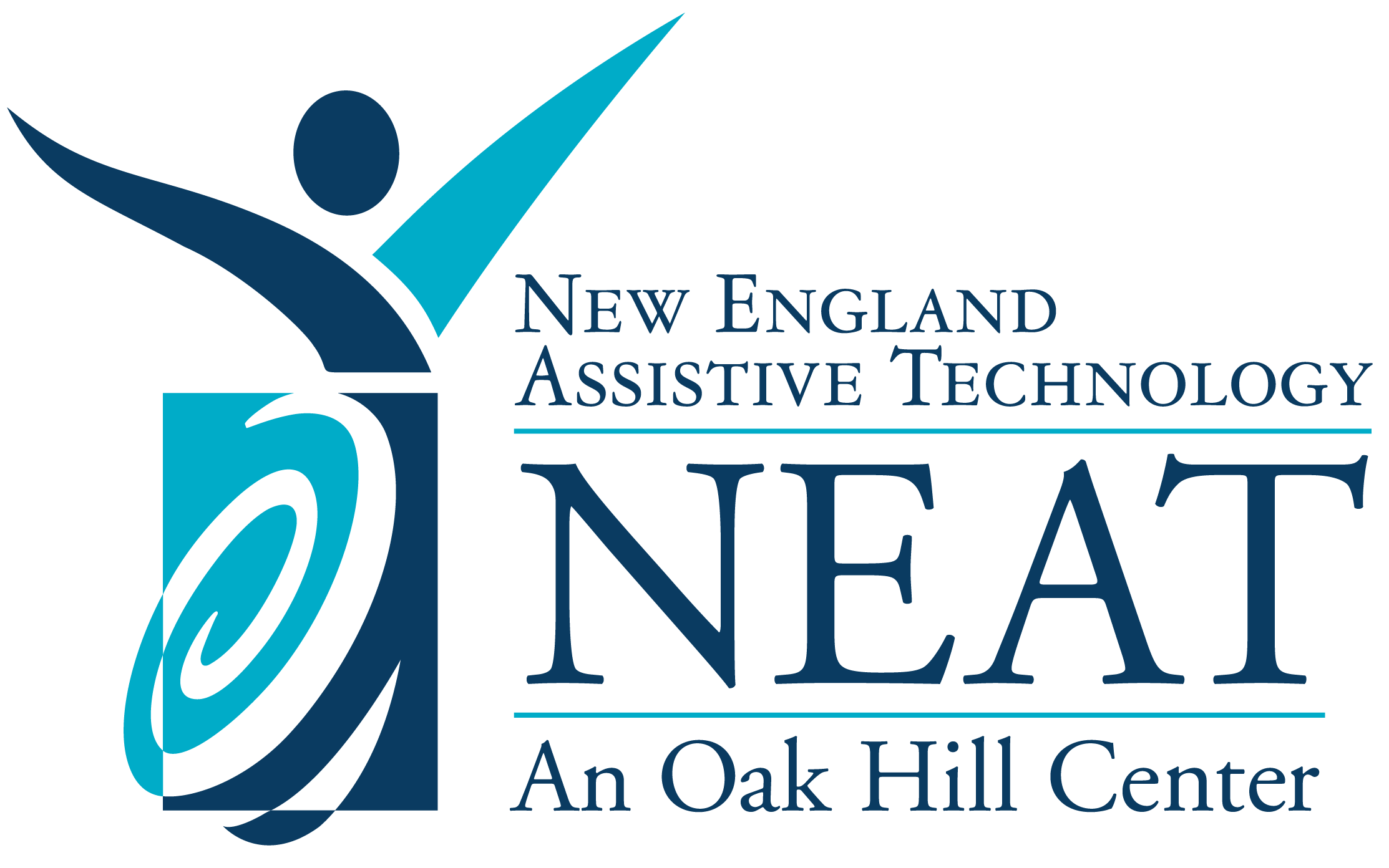 New England Assistive Technology (NEAT), an oak Hill Center logo